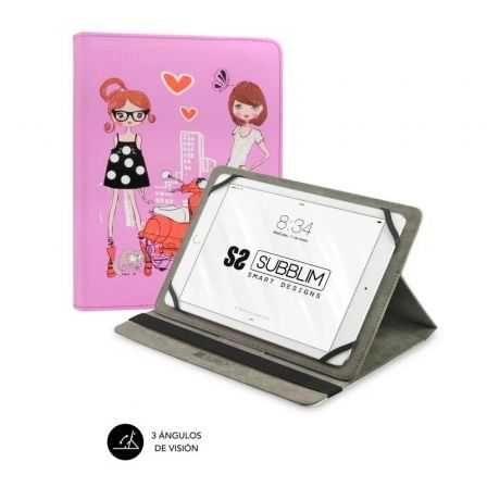 Funda Subblim Trendy Fashion Girls para Tablets de 10.1\