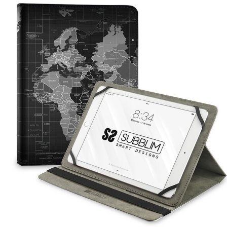 Funda Subblim Trendy Case World Map para Tablets de 10.1