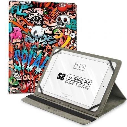Funda Subblim Trendy Graffiti para Tablets de 10.1\