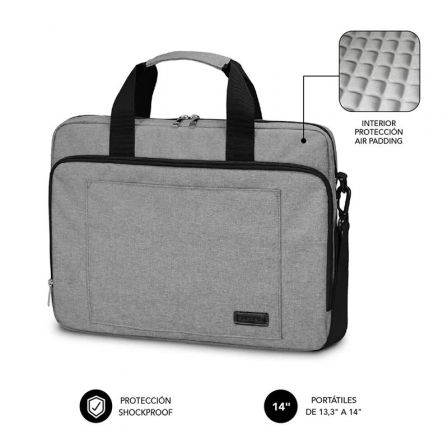 Maletín Subblim Air Padding Laptop Bag para Portátiles hasta 14
