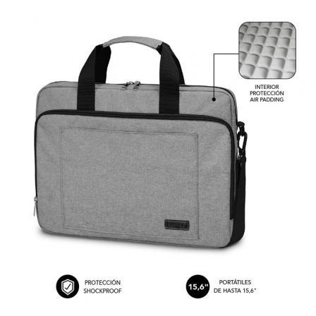 Maletín Subblim Air Padding Laptop Bag para Portátiles hasta 15.6