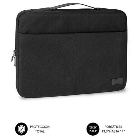 Maletín Subblim Elegant Laptop Sleeve para Portátiles hasta 14