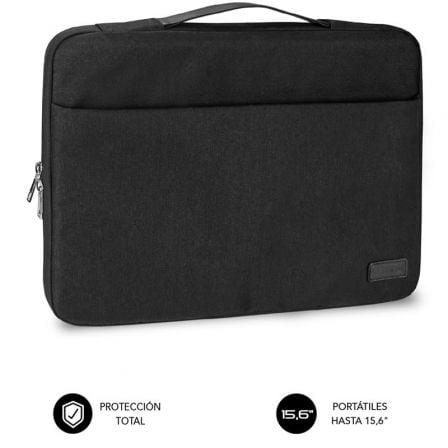 Maletín Subblim Elegant Laptop Sleeve para Portátiles hasta 15.6