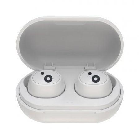 Auriculares Bluetooth Sunstech WAVEPODSGO con estuche de carga/ Autonomía 4h/ Blancos