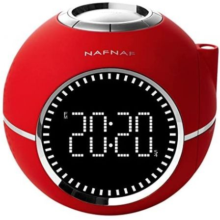 Despertador Sunstech Clockinerd/ Radio FM