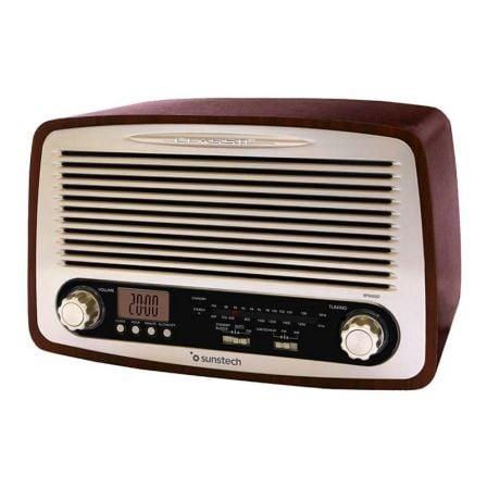Radio Vintage Sunstech RPR4000/ Madera