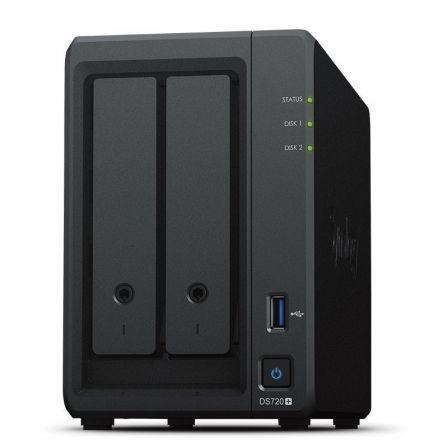 NAS Synology Diskstation DS720+/ 2 Bahías 3.5\