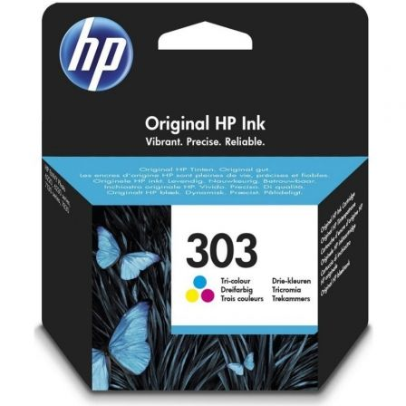 Cartucho de Tinta Original HP nº303/ Tricolor