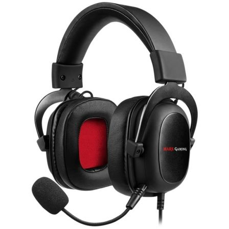 Auriculares Gaming con Micrófono Mars Gaming MH5/ Jack 3.5/ USB 2.0
