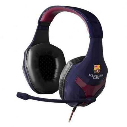 Auriculares Gaming con Micrófono Mars Gaming MHBC/ Jack 3.5/ Ed. FC Barcelona