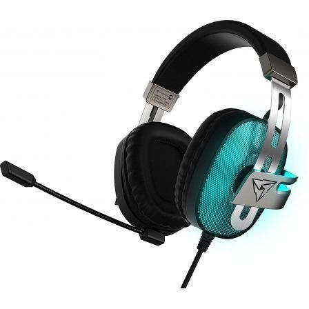 AURICULARES CON MICRÓFONO GAMING THUNDERX3 TH40 - SONIDO VIRTUAL 7.1 - DRIVERS 53MM - 7 COLORES LED - CONECTOR USB - CABLE 2.1M