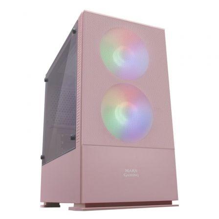 Caja Gaming Semitorre Mars Gaming MCZP/ Rosa