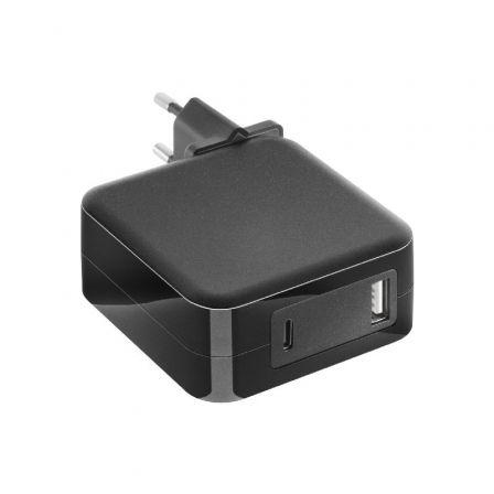 Cargador de Portátil Mars Gaming MNA2 Black/ 90W/ Automático/ 6 Conectores/ USB Tipo-C/ Voltaje 5-20V