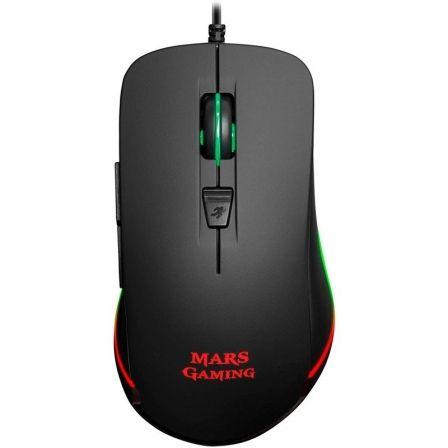 Ratón Gaming Mars Gaming MM118/ Hasta 9800 DPI