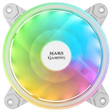 Ventilador Mars Gaming MFXW/ 12cm/ ARGB