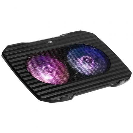 Soporte Refrigerante Mars Gaming MNBC0 para Portátiles hasta 15.6