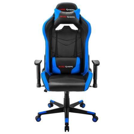 Silla Gaming Mars Gaming MGC3BBL/ Azul y Negra