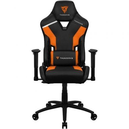 Silla Gaming Thunderx3 TC3/ Naranja Tigre