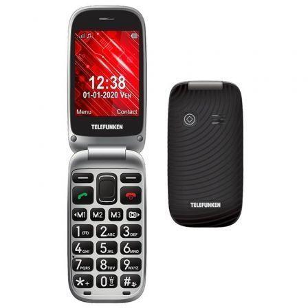 Teléfono Móvil Telefunken S560/ Negro