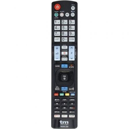 MANDO A DISTANCIA UNIVERSAL TM ELECTRON TMURC300 - COMPATIBLE CON TV LG - 2*AAA (NO INCLUIDAS) - NEGRO