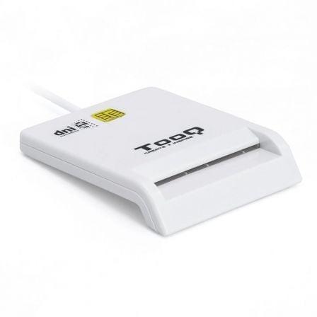 Lector de DNI TooQ TQR-210W/ Blanco