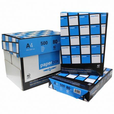 Papel Torras Paperbox/ DIN A4/ 80g/ 5 x 500 Hojas