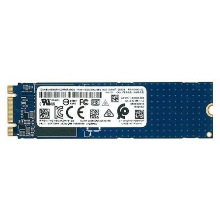 DISCO SÓLIDO TOSHIBA KBG30ZMV256G 256GB - PCIe NVMe 3.0 - M.2 2280 - LECTURA 1000MB/S - ESCRITURA 648MB/S