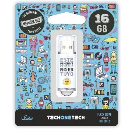 Pendrive 16GB Tech One Tech No Es Tuyo USB 2.0