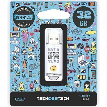 Pendrive 32GB Tech One Tech No Es Tuyo USB 2.0