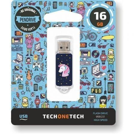 Pendrive 16GB Tech One Tech Unicornio Dream USB 2.0