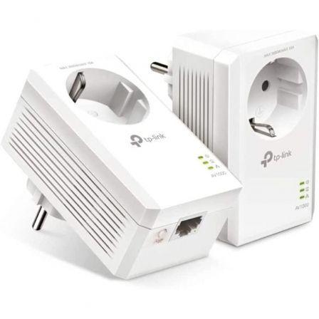 Adaptador Powerline TPLink AV1000 1000Mbps/ Alcance 300m/ Pack de 2