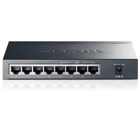Switch TP-Link TL-SG1008P 8 Puertos/ RJ-45 10/100/1000 PoE