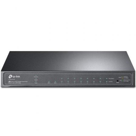 Switch TP-Link Smart Gigabit TL-SG2210P 10 Puertos/ RJ-45 10/100/1000 PoE/ SFP