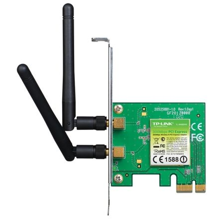 Tarjeta de red Inalámbrica-PCI Express TP-Link TL-WN881ND/ 300Mbps/ 2.4GHz