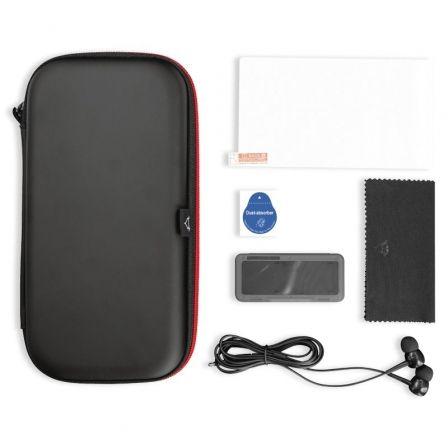 Pack Gaming Trust GXT 1241 Tidor XL/ Estuche rígido + Protector Pantalla + Auriculares + Caja Almacenamiento de Tarjetas de Juegos Para Switch Lite