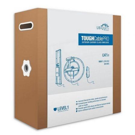 Ubiquiti TOUGHCable Pro - cable al por mayor - 304.8 m - negro
