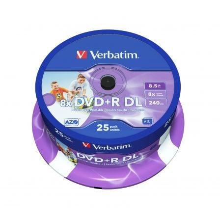 Verbatim - DVD+R DL x 25 - 8.5 GB - soportes de almacenamiento