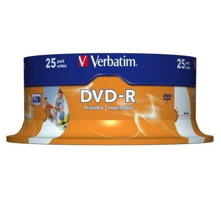Verbatim - DVD-R x 25 - 4.7 GB - soportes de almacenamiento