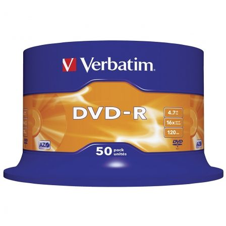 Verbatim - DVD-R x 50 - 4.7 GB - soportes de almacenamiento