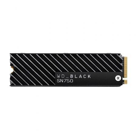 Disco SSD Western Digital WD Black SN750 1TB/ M.2 2280 PCIe/ con Disipador de Calor