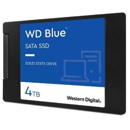 Disco SSD Western Digital WD Blue 4TB/ SATA III