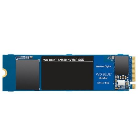DISCO SÓLIDO WESTERN DIGITAL BLUE SN550 1TB SSD PCIE NVME GEN3 - M.2 2280 - LECTURA 2400MB/S - ESCRITURA 1950MB/S