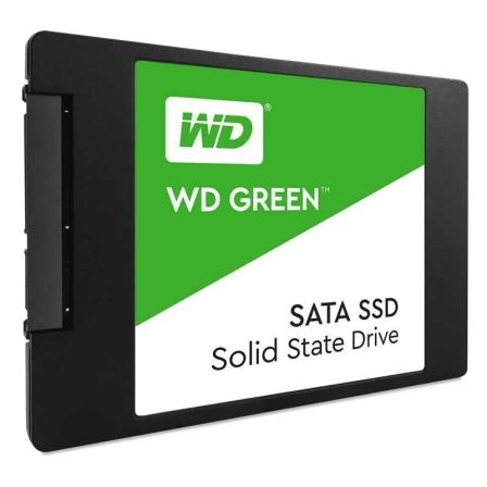 "DISCO SÓLIDO WESTERN DIGITAL GREEN WDS100T2G0A - 1TB - SATA III - 2.5""/6.35CM - LECTURA 545MB/S"