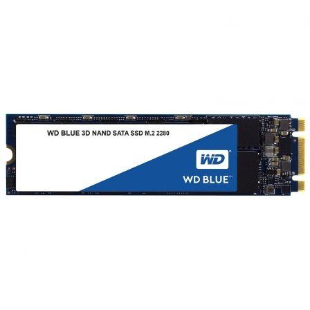 DISCO SÓLIDO WESTERN DIGITAL BLUE 3D NAND 500GB - SATA III - M.2 2280 - LECTURA 560MB/S - ESCRITURA 530MB/S