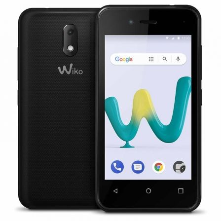 SMARTPHONE MÓVIL WIKO SUNNY3 MINI BLACK - 4'/10.16CM - CÁMARA 2MP/VGA - QC 1.3GHZ - 8GB - 512MB RAM - OREO GO - DUAL SIM - BAT 1400MAH