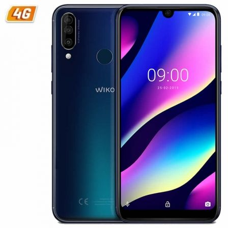 SMARTPHONE MÓVIL WIKO VIEW 3 NIGHT BLUE - 6.26'/15.9CM HD+ - OC 2.0GHZ - 3GB - 64GB - CÁMARA (12+2+13)/8MP - 4G - DUAL SIM - ANDROID 9 - BT - 4000MAH