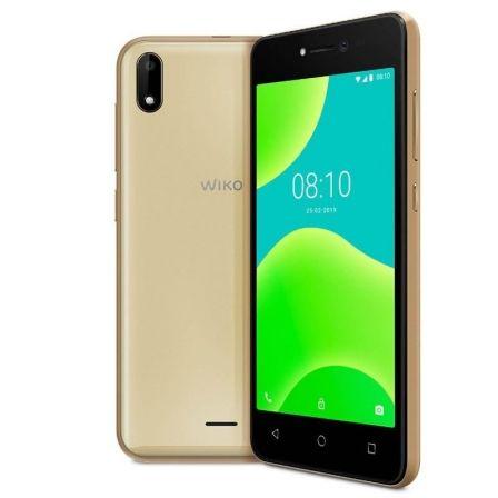 SMARTPHONE MÓVIL WIKO Y50 GOLD - 5'/12.7CM - CÁMARA 5MP/5MP - QC 1.3GHZ - 16GB - 1GB RAM - OREO GO - DUAL SIM - BAT 2200MAH