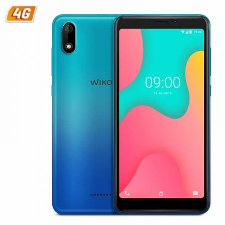 SMARTPHONE MÓVIL WIKO Y60 BLEEN - 5.45'/13.8CM FWVGA+ - QC 1.3GHZ CORTEX A53 - 1GB - 16GB - CÁMARA 5/5MP - 4G - ANDROID 9 - BT - GPS - BAT2500MAH