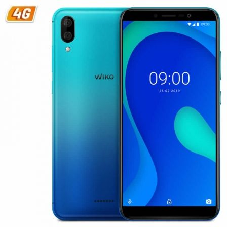SMARTPHONE MÓVIL WIKO Y80 BLEEN - 5.99'/15.2CM HD+ - OC 1.6GHZ - 2GB - 16GB - CÁMARA (13+2)/5MP - 4G - ANDROID 9 - BT - GPS - BAT4000MAH