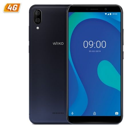 SMARTPHONE MÓVIL WIKO Y80 BLUE - 5.99'/15.2CM HD+ - OC 1.6GHZ - 2GB - 16GB - CÁMARA (13+2)/5MP - 4G - ANDROID 9 - BT - GPS - BAT4000MAH